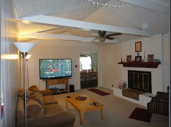 Large rooms in nice well kept uncluttered home