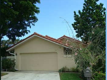 EasyRoommate US - 3 Bdrm 2 Bath House, Gated, Pool Community - Delray Beach, Ft Lauderdale Area - $700 pcm