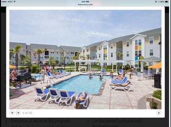 EasyRoommate US - Sublease for for the summer at The Cove - Myrtle Beach, Other-South Carolina - $599 pcm