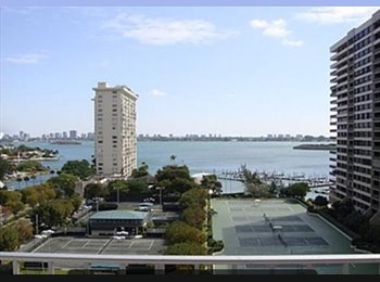 Condo bedroom for rent in luxurious Jockey Club on BISCAYNE...