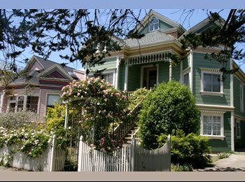 EasyRoommate US - Large Victorian Flat near CAL & Berkeley Bowl - Berkeley, Oakland Area - $6,000 pcm