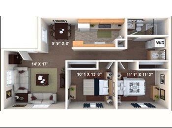 EasyRoommate US - Room For Rent (For the Summer) - Sacramento, Sacramento Area - $455 pcm