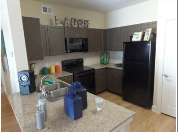 EasyRoommate US - Aspen Heights 4x4 - Sublease avail. May 18-Aug 7! - San Marcos, San Marcos - $529 pcm