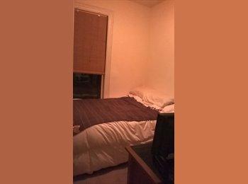VERY SMALL ROOM IN 3 BEDROOM FIFTH-FLOOR WALK-UP