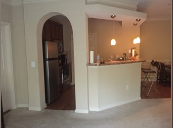 1 Spacious Bedroom & Private Bath in 2 Bed/ 2 Bath...