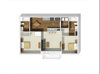 EasyRoommate US - Perfect Location. Luxury Apartment Complex. - Central, Columbus Area - $690 pcm
