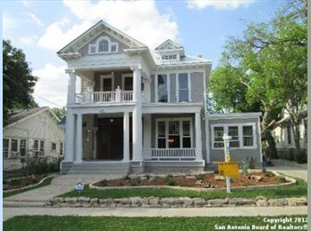 EasyRoommate US - ~Summer Housing in a Hip Historic Home~ - Downtown - Alamo Heights, San Antonio - $550 pcm