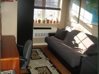 Beautiful, sunny, fully furnished room in Astoria