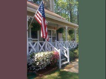 EasyRoommate US - Upstairs for rent. Big yard quite neighborhood - Marietta, Atlanta - $600 pcm