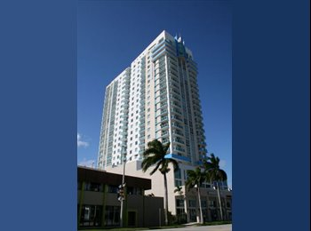 EasyRoommate US - Furnished Bedroom & private Bathroom in Edgewater - Brickell Avenue, Miami - $1,300 pcm