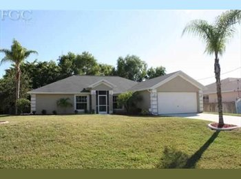 EasyRoommate US - New Listing - Cape Coral, Other-Florida - $600 pcm