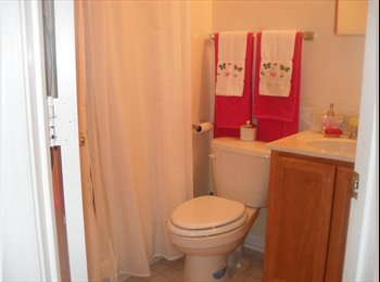 EasyRoommate US - $675 Fully Furnished Room in Quiet & Clean Townhom - Gaithersburg, Other-Maryland - $675 pcm