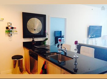 EasyRoommate US - Amazing 2 BR at Brickell - AXIS building with VIEW - Brickell Avenue, Miami - $1,300 pcm