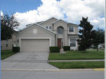 EasyRoommate US - House Shared Accommodation Available: Need Roomie - Orlando - Orange County, Orlando Area - $500 pcm