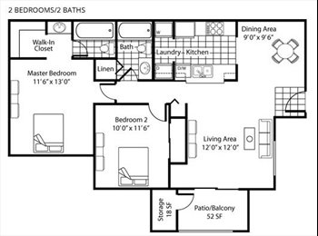 EasyRoommate US - Room for rent in Beaverton - Beaverton, Beaverton - $527 pcm