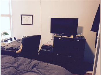EasyRoommate US - $1100 Roommate wanted for 2BR in uptown Hoboken fo - Hoboken, Central Jersey - $1,100 pcm