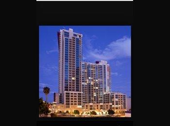 EasyRoommate US - Bedroom for rent in Downtown Gaslamp Vantage Poiint building  - Hillcrest, San Diego - $1,200 pcm