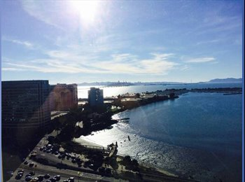 EasyRoommate US - 1br 1ba available in 2br apartment - Emeryville, Oakland Area - $1,600 pcm