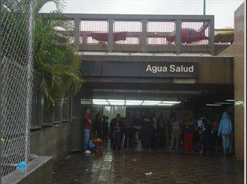 CompartoApto VE - HABITACION DAMA SOLA EN METRO AGUA SALUD - Libertador, Caracas - BsF 3.500 por mes