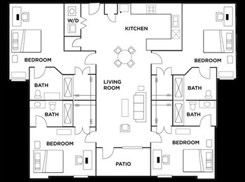 EasyRoommate US - UNT or TWU students in DENTON - Other North Dallas, Dallas - $589 pcm