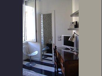 Stanza con bagno privato quartiere Parioli
