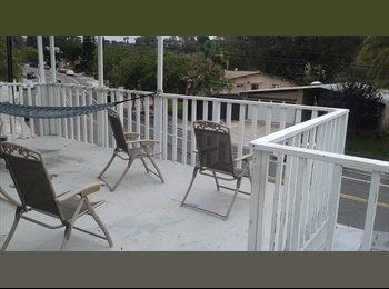 Private Upstairs living area near SDSU!
