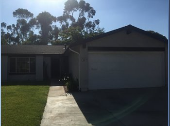 EasyRoommate US - Room for rent! Quiet, uphill near the canyons in Mira Mesa - Mira Mesa, San Diego - $700 pcm