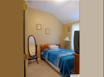 EasyRoommate US - Room for Rent in Loving Home - Brownville, Tuscaloosa - $400 pcm