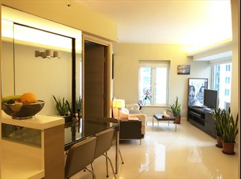 EasyRoommate HK - 5 Star Modern Serviced  Harbourview Apartment , Hung Hom - HKD16,300 pcm