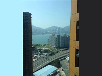 EasyRoommate HK - Short-term room for rent. (Starting from May), Hung Hom - HKD9,000 pcm