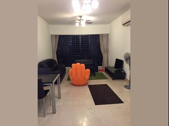 EasyRoommate SG - 5 Min to MRT!  No Owner,No Agent fees, FF Condo Master room at Simsville, Paya Lebar - $1,400 pm