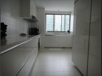 EasyRoommate SG - Shenton Way MRT , Outdoor Balcony Big Master Room, Singapore - $2,700 pm