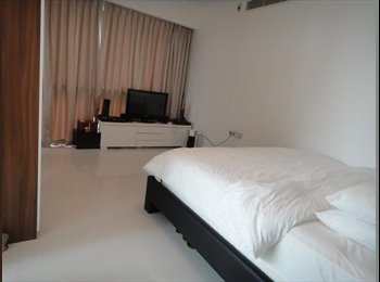EasyRoommate SG - One shenton big queen room for rent . Raffles City , Singapore - $2,300 pm