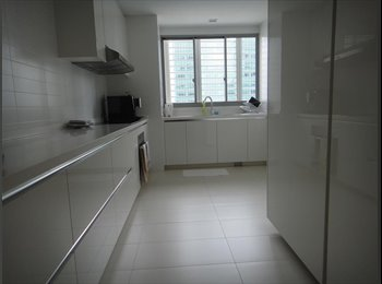EasyRoommate SG - 1 Shenton Queen C/m Room for Rent , Marina Bay MRT, Singapore - $2,000 pm