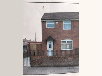 EasyRoommate UK - 3 rooms to rent. 2 double 1 single, Hunts Cross - £347 pcm
