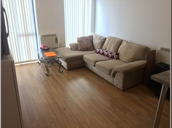 EasyRoommate UK - Spacious Single Room in Large 2-Bed Apartment, Abbey Hey - £340 pcm