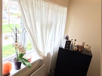 EasyRoommate UK - Crawley Bright double room close to town centre , Crawley - £550 pcm