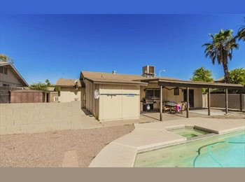 EasyRoommate US - Tempe Room for Rent/Kyrene&Baseline with POOL., Tempe - $565 pm
