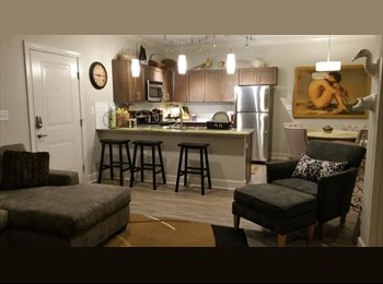 EasyRoommate US - NEW, MODERN 800 Sq Ft, 1 Bed, 1 bath, Furnished Apt, Short or Extended Corp. Stay, Little Rock - $2,300 pm