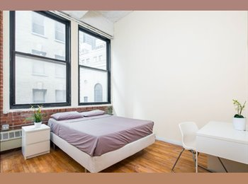 EasyRoommate US - Bright bedroom available in nice area in the FIDI, Financial District - $1,800 /mo