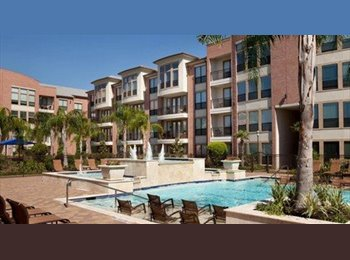 EasyRoommate US - Female looking for female roommate in a nice 2/2 1313 sq.ft apartment in North Post Oak Lofts, Houst, Lazybrook/Timbergrove - $820 /mo