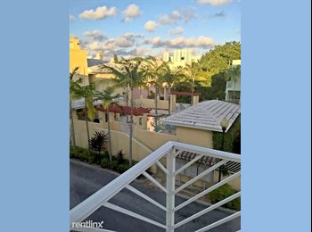 EasyRoommate US - **1 PRIVATE FULL ROOM AVAILABLE IN A 2 ROOM 3 STORIES TOWN HOUSE!** The Roads End Village! (Gated Co, East Little Havana - $1,050 pm