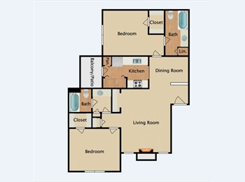 EasyRoommate US - Great Westchase Apartment , Westchase - $600 pm